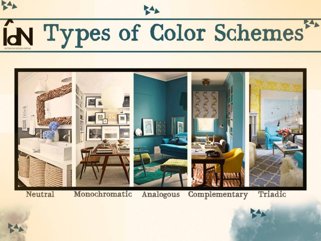 Color Schemes For Interior Design Interior Design Nepal